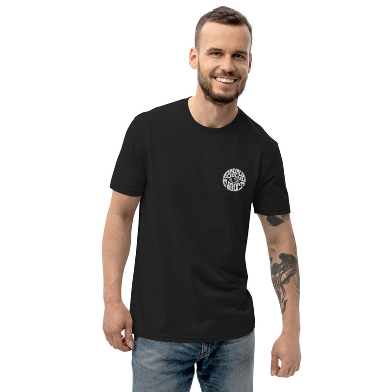 Unisex Embroidered Logo Recycled T-shirt