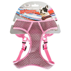 Coastal Pet Sport Wrap Adjustable Harness - Pink