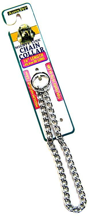 Aspen Pet Choke Chain - Medium