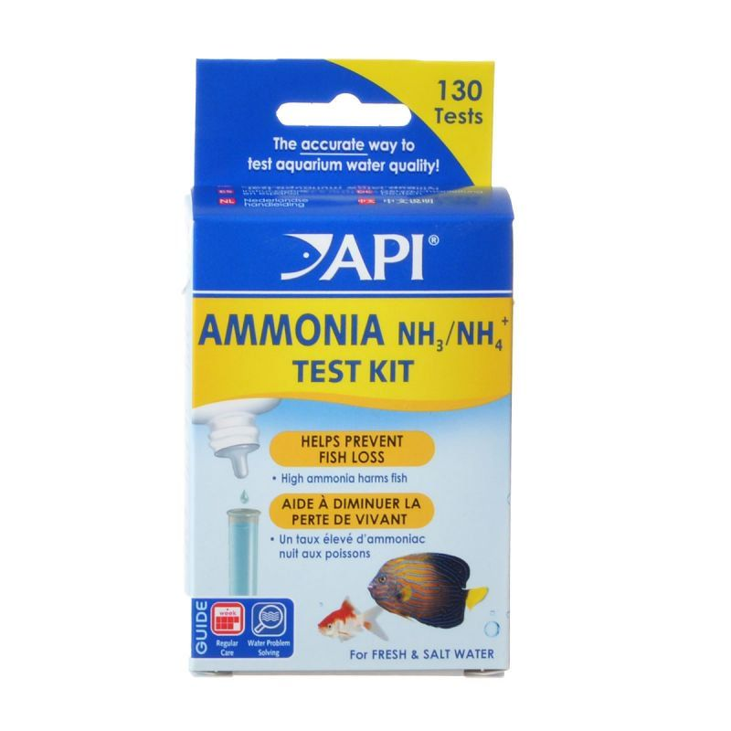 API Ammonia Test Kit Fresh & Salt Water