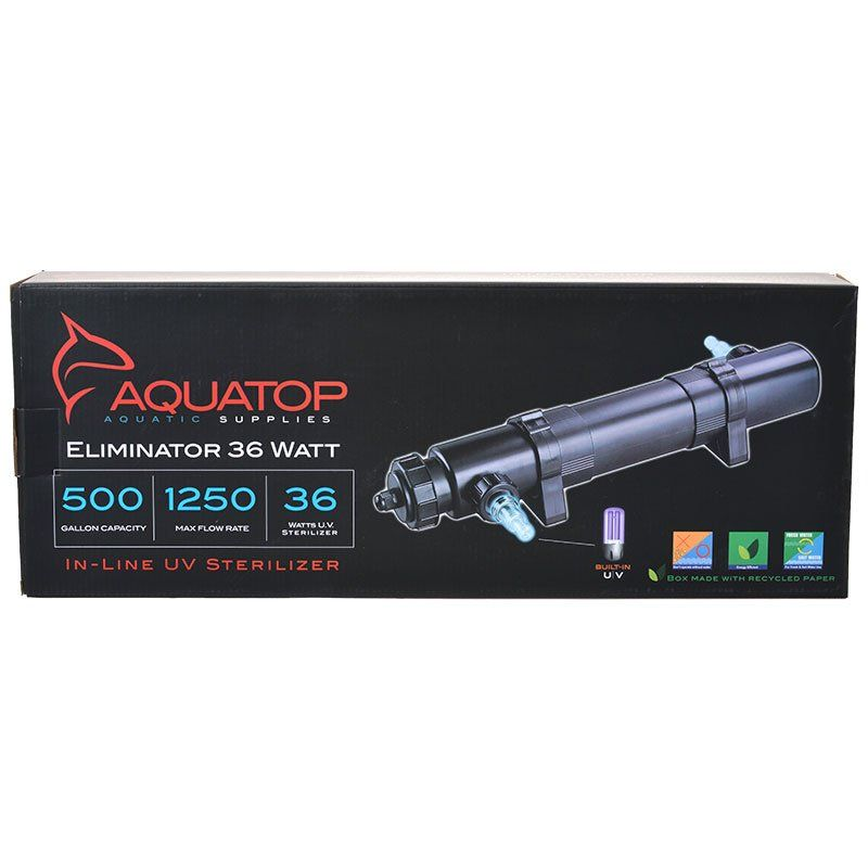 Aquatop Eliminator In-Line UV Sterilizer