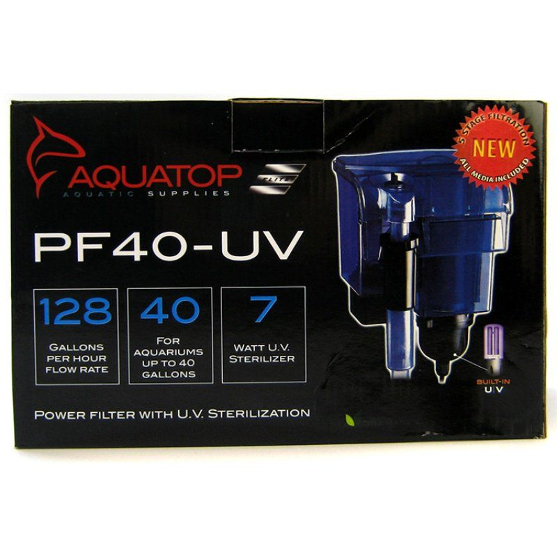 Aquatop Power Filter with UV Sterilizer