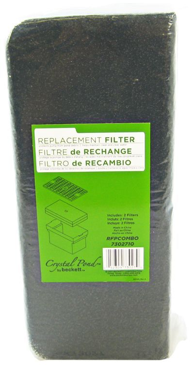 Beckett Bio Filter Replacement Pad