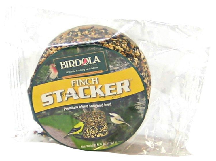 Birdola Finch Stacker Seed Cake