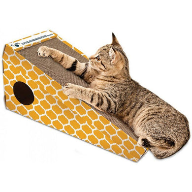 OurPets Alpine Climb Incline Cat Scratcher