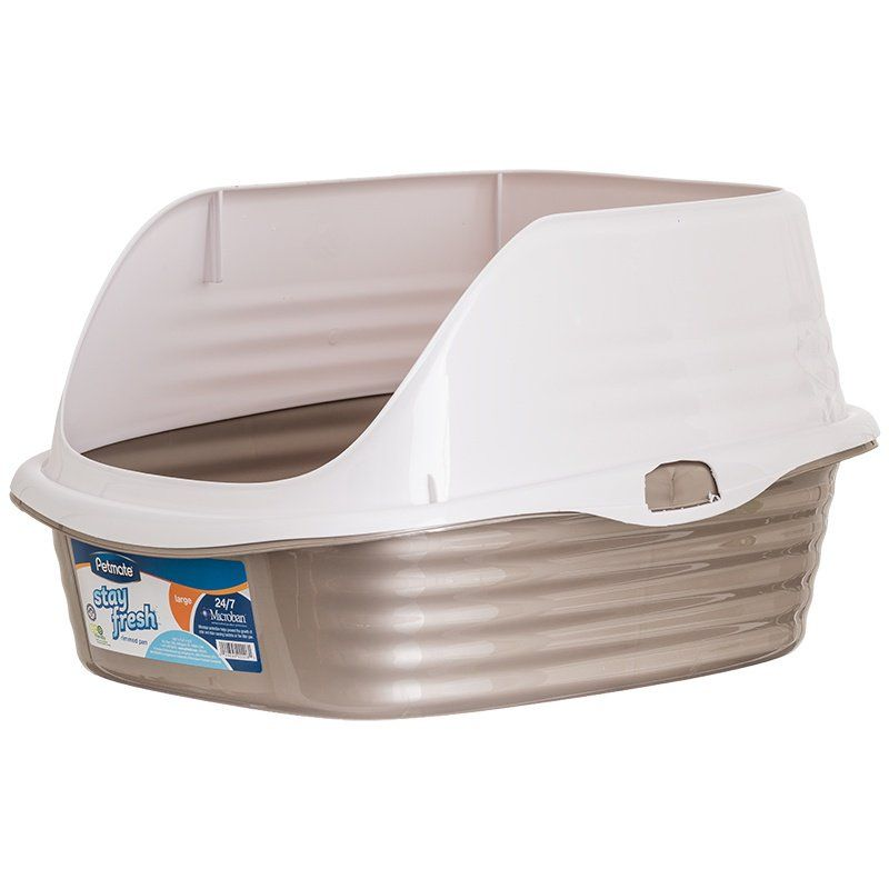 Petmate Litter Pan with Rim