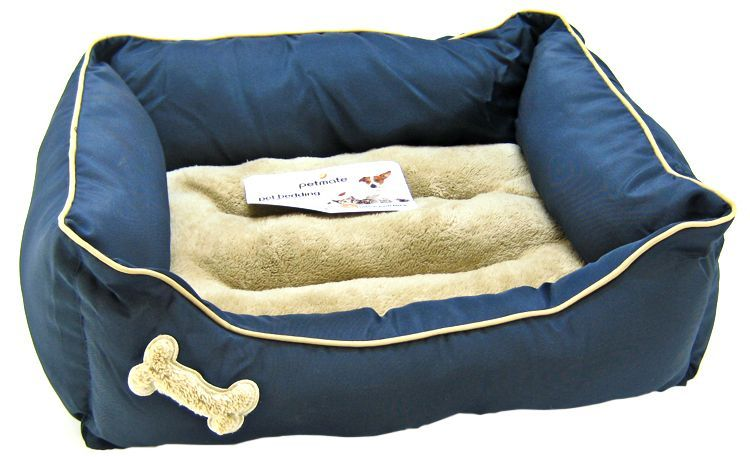 Petmate Plush Rectangular Bone Lounger