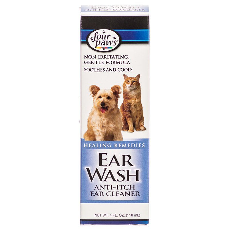 Four Paws Ear Wash Anti-Itch Ear Cleaner