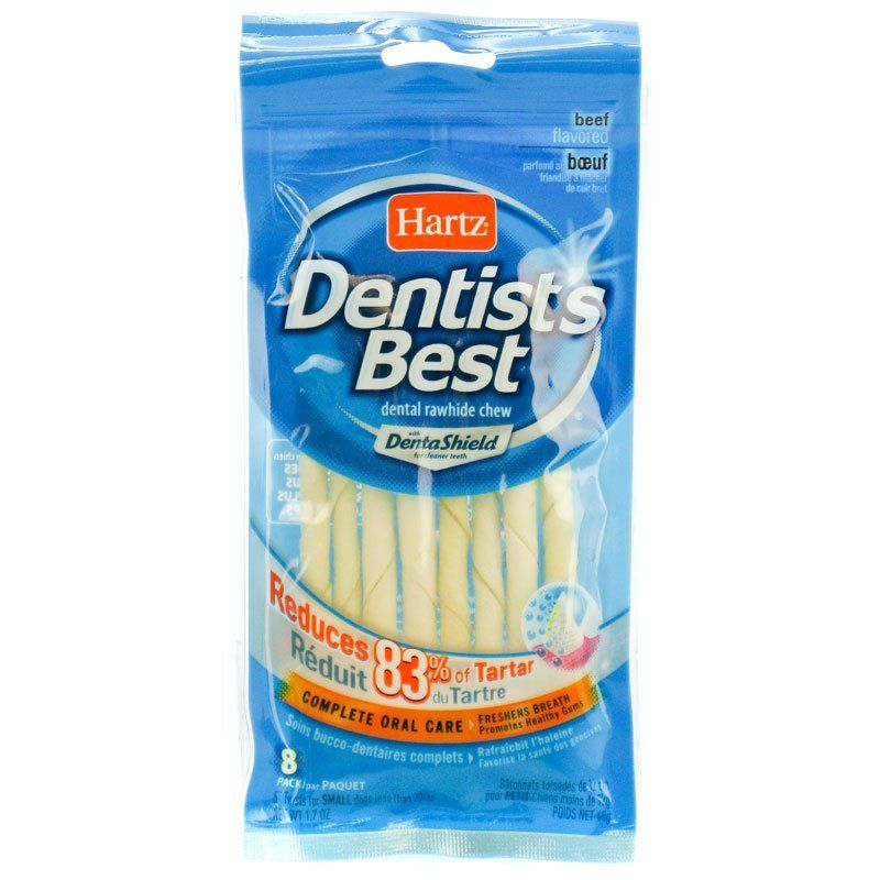 Hartz Dentist's Best Twists with DentaShield