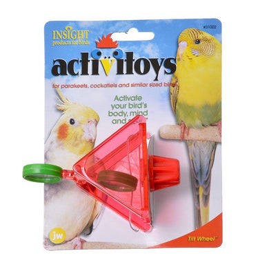 JW Insight Tilt Wheel Bird Toy
