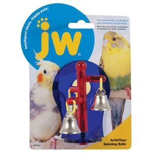 JW Insight Spinning Bells Bird Toy