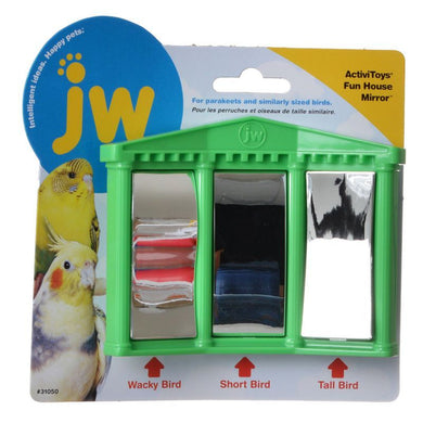 JW Insight Fun House Mirror Bird Toy