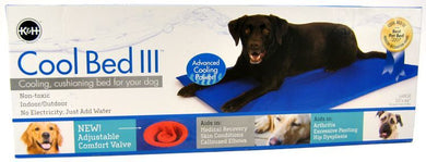 K&H Pet Products Cool Bed III with Blue Cushion