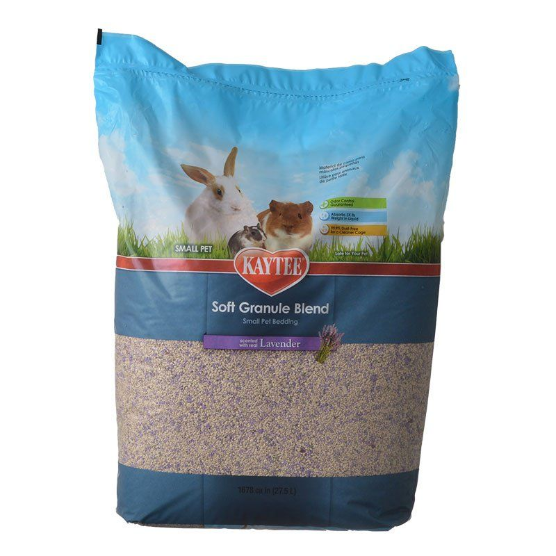 Kaytee Soft Granule Blend Small Pet Bedding - Lavender Scent