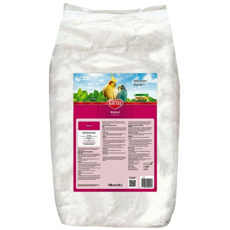 Kaytee Walnut Pet Bird Litter