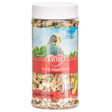 Kaytee Fiesta Fruit & Veggie Treat - Parakeet