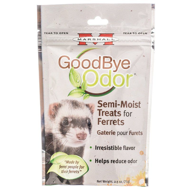Marshall Goodbye Odor Semi-Moist Treats for Ferrets