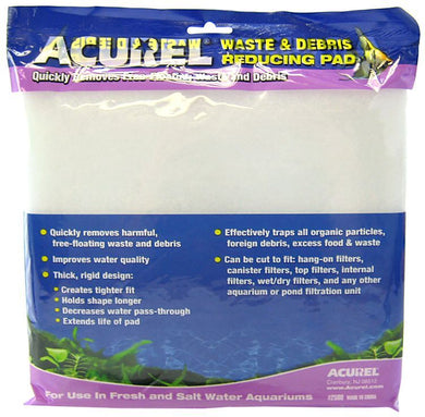 Acurel Waste & Debris Reducing Pad - Polyfiber Media Pad