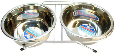 Spot Stainless Steel Double Diner