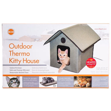 K & H Outdoor Kitty House - Heated