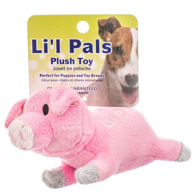 Lil Pals Ultra Soft Plush Dog Toy - Pig