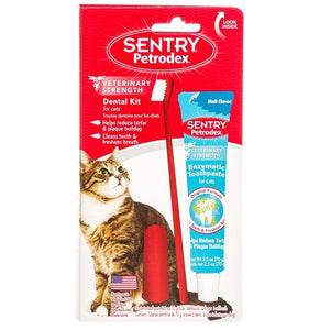 Petrodex Dental Kit for Cats with Enzymatic Toothpaste