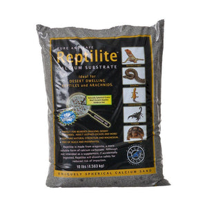 Blue Iguana Reptilite Calcium Substrate for Reptiles - Smokey Sands