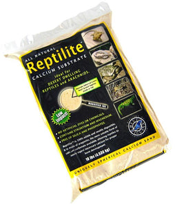 Blue Iguana Reptilite Calcium Substrate for Reptiles - Aztec Gold