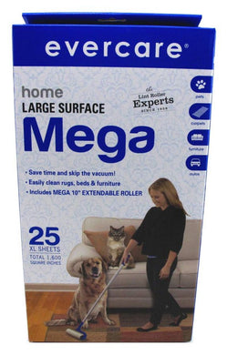 Evercare Home Large Surface Mega Lint Roller
