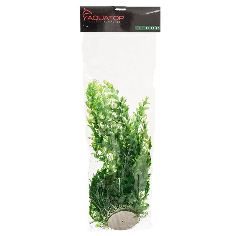 Aquatop Medium Leaf Aquarium Plant - Light Green