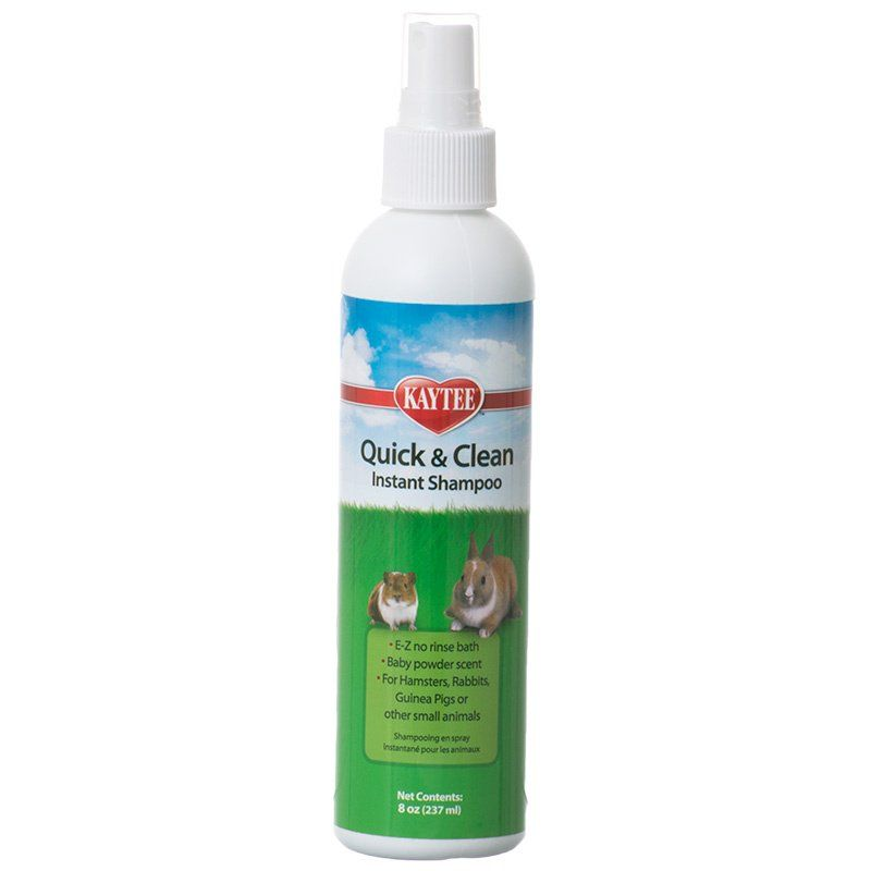 Kaytee Quick & Clean Instant Small Pet Shampoo