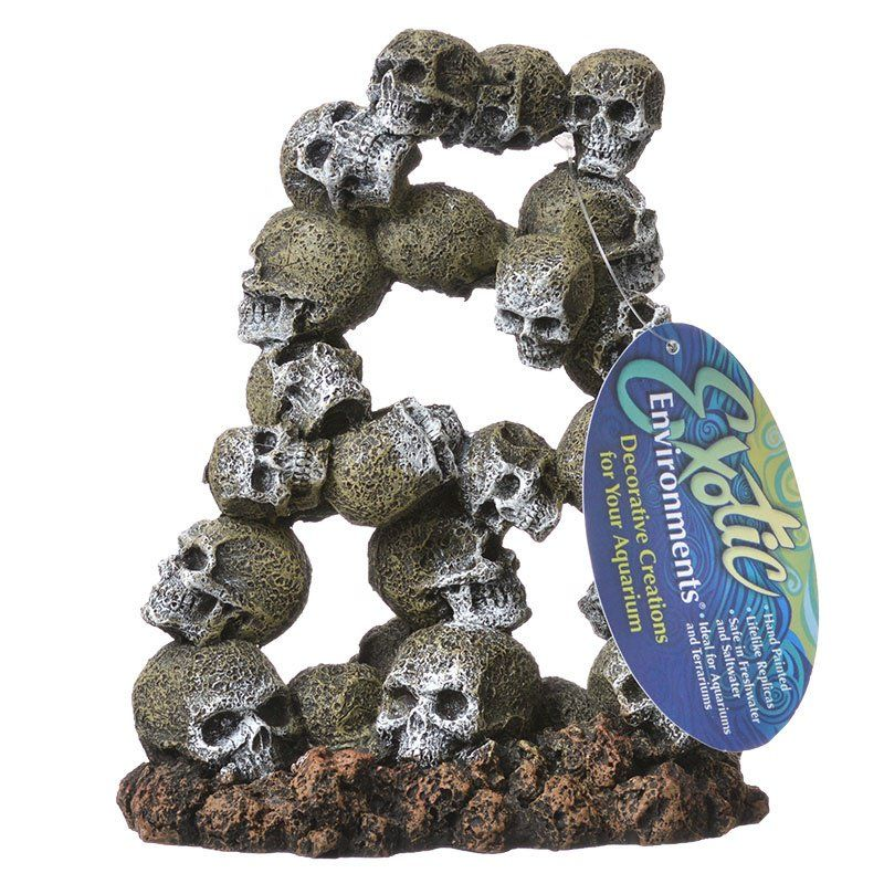 Exotic Environments Skull Archway Aquarium Ornament