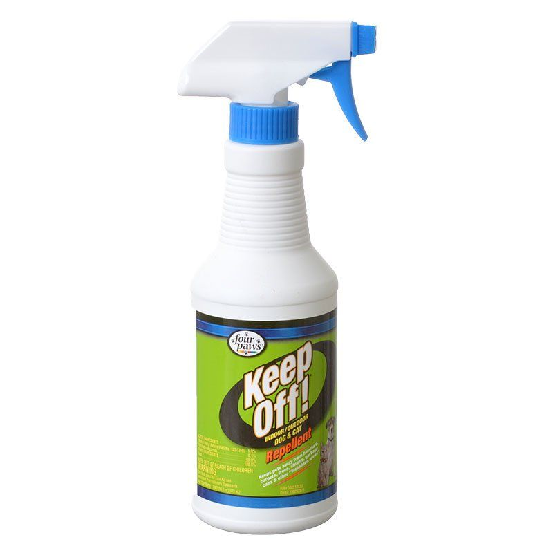 Four Paws Keep Off! Indoor & Outdoor Dog & Cat Repellent Spray