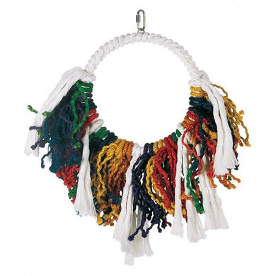 Living World Junglewood Rope Dream Catcher Bird Toy