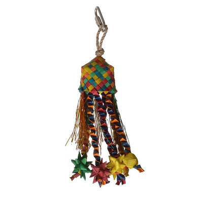Hari Rustic Treasures Star Basket Bird Toy