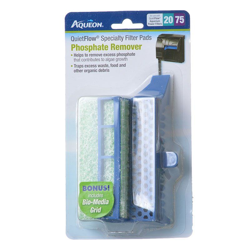 Aqueon QuietFlow Specialty Filter Pads - Phosphate Remover