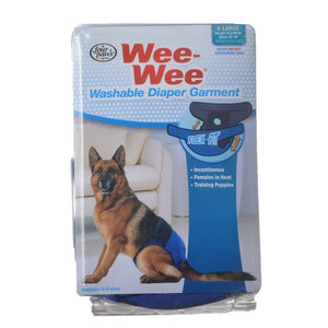 Four Paws Wee-Wee Washable Diaper Garment