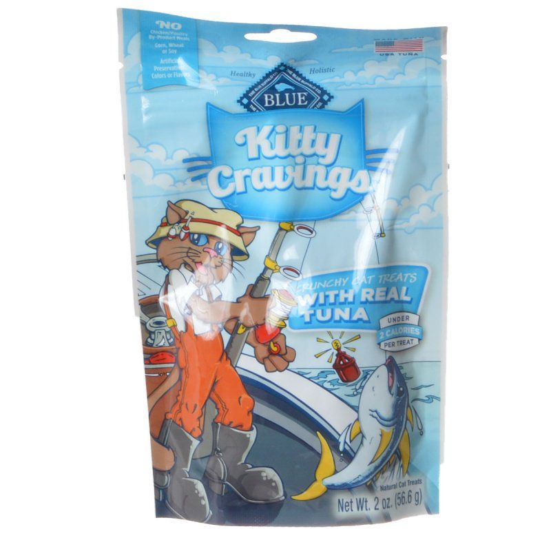 Blue Buffalo Kitty Cravings Crunchy Cat Treats - Real Tuna