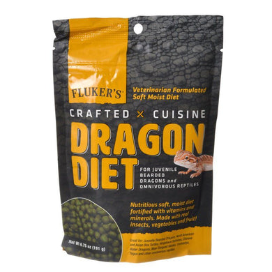 Flukers Crafted Cuisine Dragon Diet - Juveniles