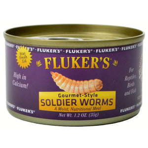 Flukers Gourmet Style Soldier Worms