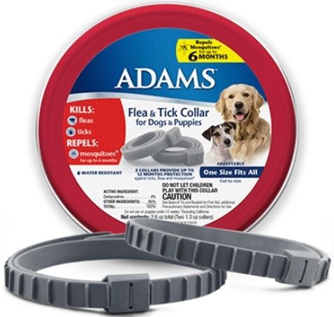 Adams Flea & Tick Collar for Dogs & Puppies