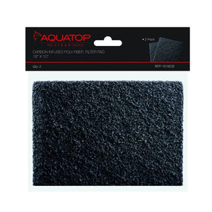 Aquatop Carbon Infused Poly-Fiber Filter Pad
