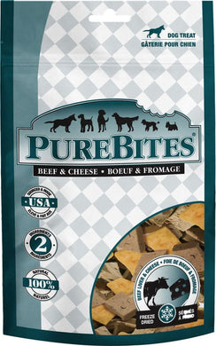 PureBites Beef Liver & Cheese Freeze Dried Dog Treats