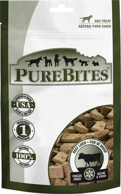 PureBites Beef Liver Freeze Dried Dog Treats