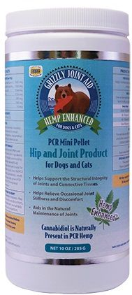 Grizzly Hemp Enhanced PCR Mini Pellet Hip & Joint Product