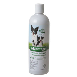 Advantage Flea & Tick Treatment Shampoo for Dogs & Puppies