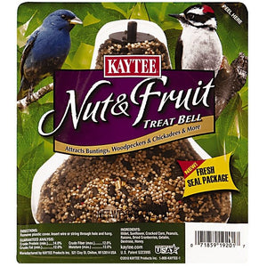 Kaytee Nut & Fruit Treat Bell