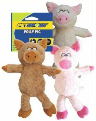 Petsport Polly Pig Dog Toy - (Assorted Colors)