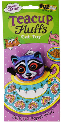 Fuzzu Raccoon Cat Toy