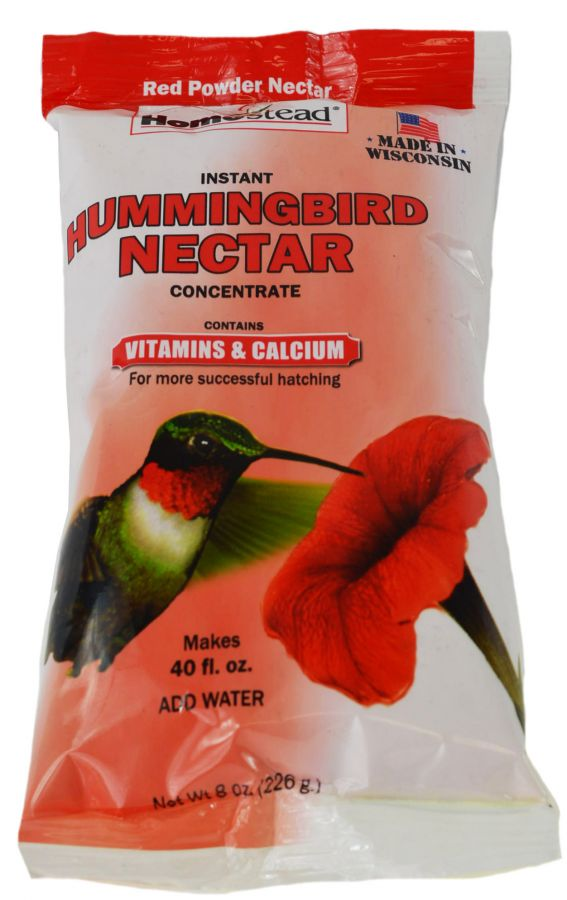 Homestead Hummingbird Red Nectar Sugar Concentrate Powder